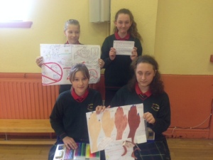 Prizewinning Posters and Poems for Anti-Bullying Week.