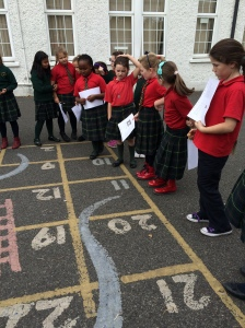 Snakes and Ladders Scoil Mhuire style.